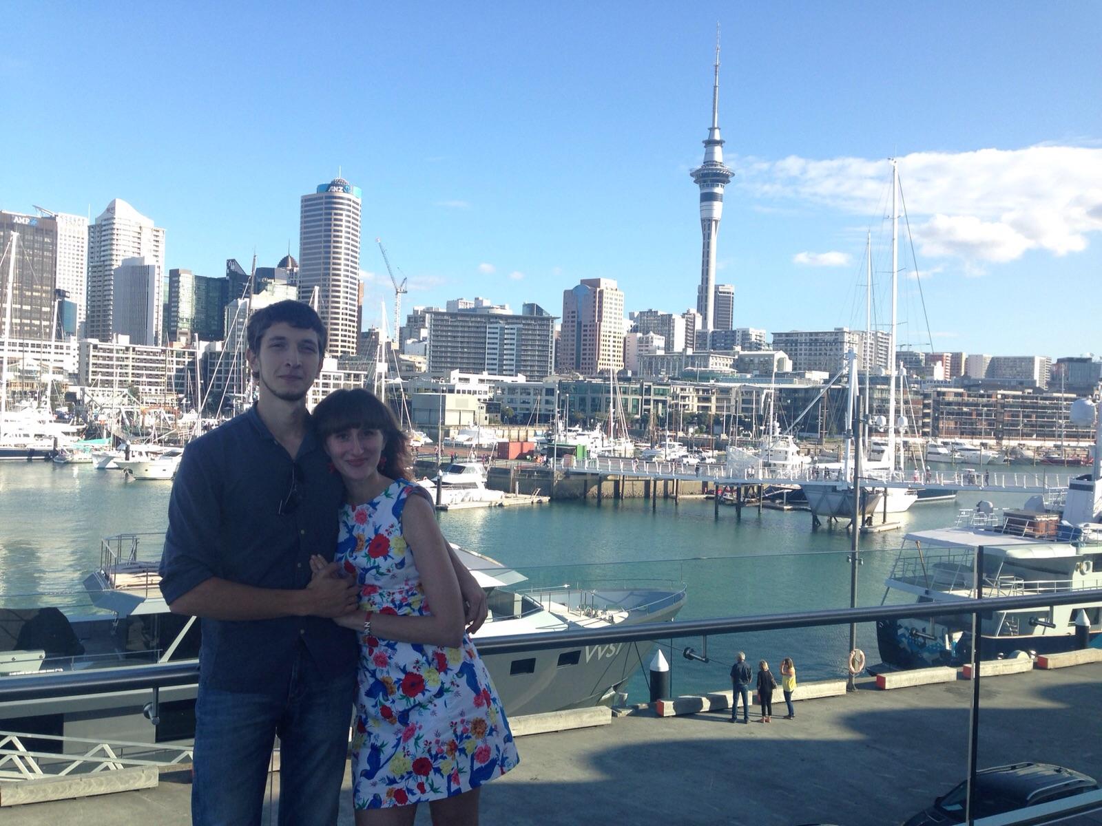 Обои сверху, новая зеландия, auckland. Города foto 12